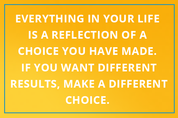 make a choice quote