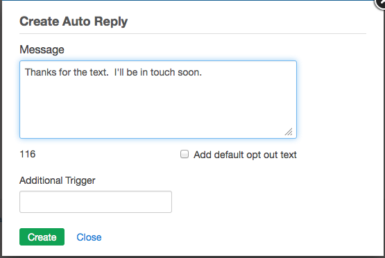 how to ask for reply