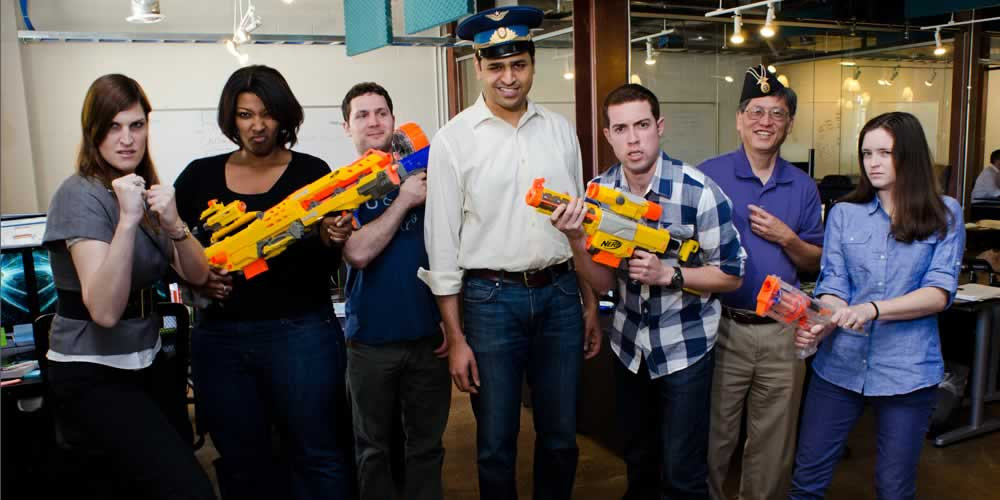 Sales Support Team Nerf